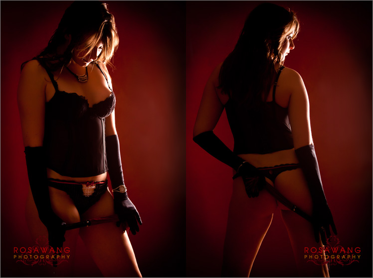 Boudoir Photography in comfortable studio