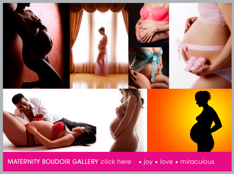 Maternity Boudoir Photography - Boudoir Photos