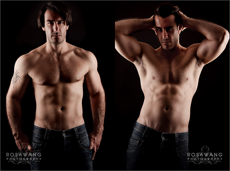 Stunning Male Model Portfolio Photography