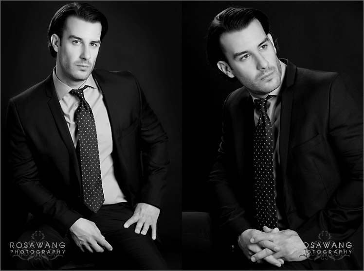 Male Model Portfolio Photography