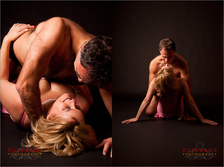Sensual Couples Boudoir Photography in Toronto