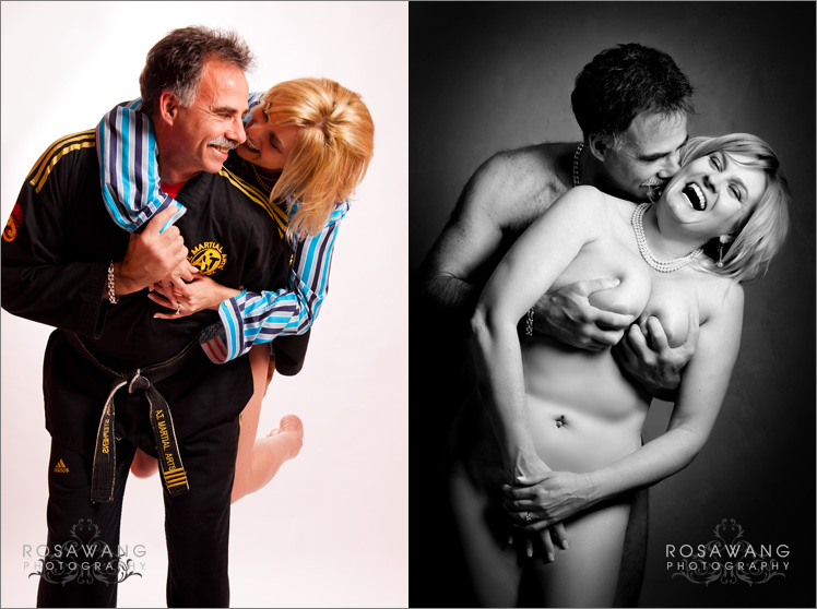 Show your love with Couples Boudoir Photography
